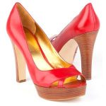 Marc Fisher Mandisa 2 red round toe