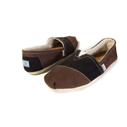 suede fleece-lined Toms Shoes