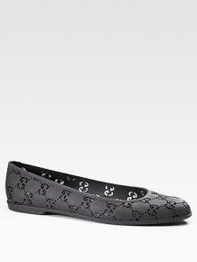 Gucci Etretat Rubber Flats