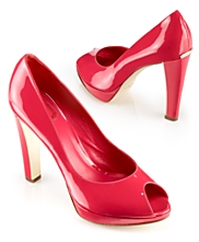 Dior Miss Dior II stawberry patent pump