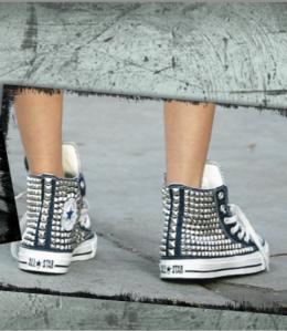 Kettle Black Converse shoes