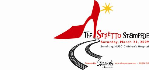 stiletto stampede t shirt logo