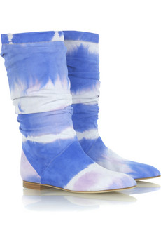 Brian Atwood Ontorio tie dye boots