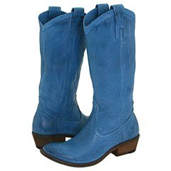 I love this great color in slouchy pull-on boots
