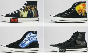 converse metallica collection