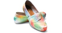 TOMS- it doesn't have to be tie-dye to be groovy