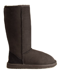Sheepskin boots with arch support